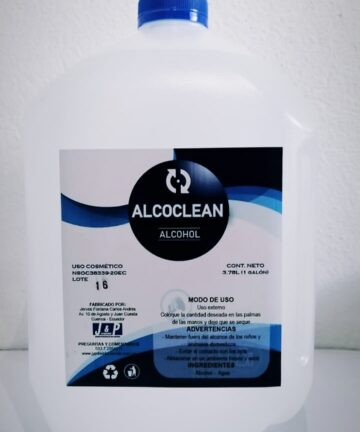 Alcohol Antiseptico Alcoclean